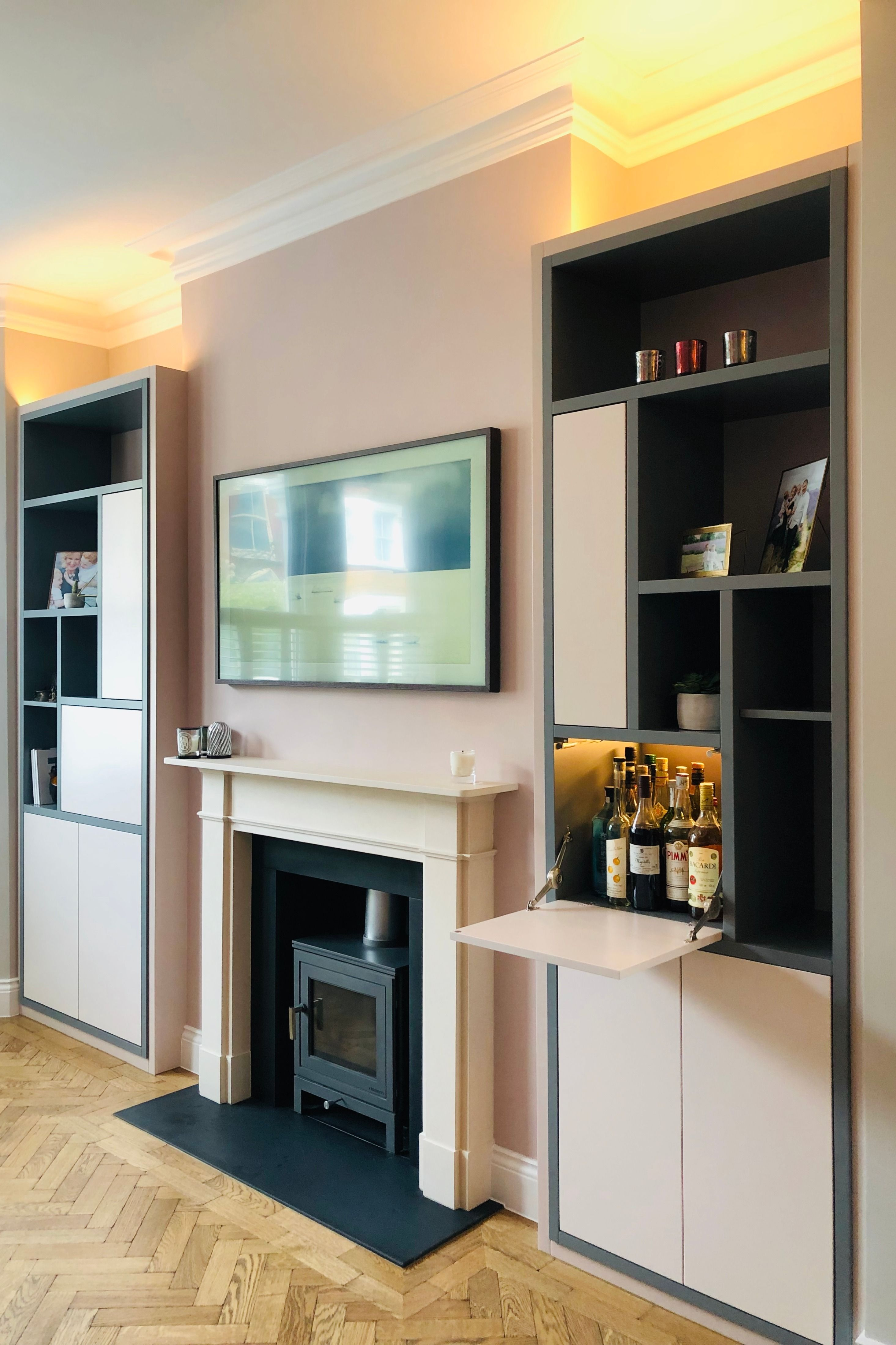 modern alcove fitted furniture in 2020  alcove ideas