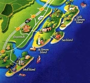 Map Of Georgia Golden Isles.Nautica Real Estate Has Many Homes Condos And Cottage For Sale On