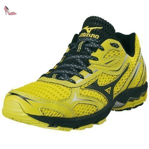 4ee2571f4 Mizuno - Men Wave Aero 9 - Couleur  Jaune - Pointure  40.5 - Chaussures  mizuno ( Partner-Link)
