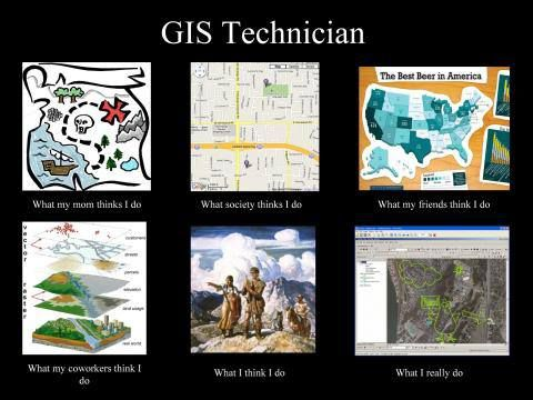 What People Think A ‪ Gis‬ Technician Does ‪ Meme