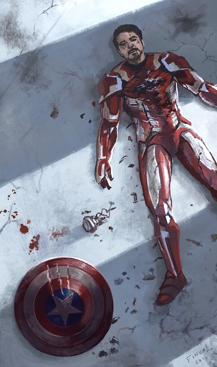 I want to know what happened to him after Steve and Bucky left. How did he manage to get up? <<<<. I imagine Steve and Bucky met T'Challa on the way out, and Steve asked T'Challa to make sure Tony got home okay.