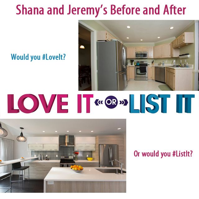 Hilary Farr Kitchen Designs: Love It Or List It Episode 136, Would You #LoveIt Or Would