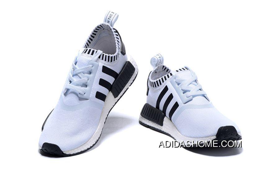 802bd6b68 Adidas NMD Runner White Black Men Women Outlet