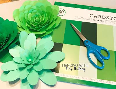 DIY Paper Succulents #classroomdecor