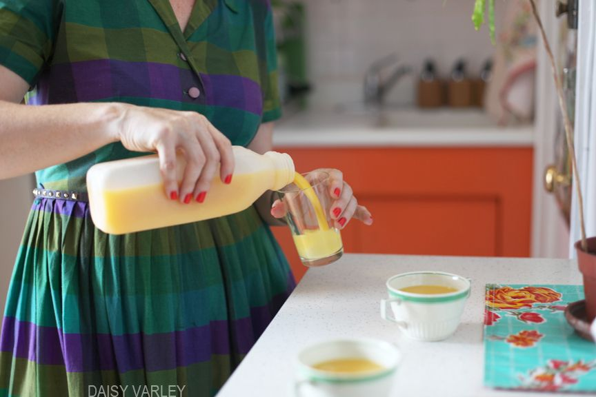 mmmm...orange juice.     [Photo by Daisy Varley]  www.daisyvarley.com