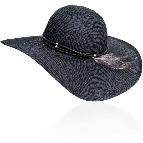 3a48780ede2 Maggie Mowbray Millinery - Fern Floppy Straw Hat featuring polyvore fashion accessories  hats straw hat floppy