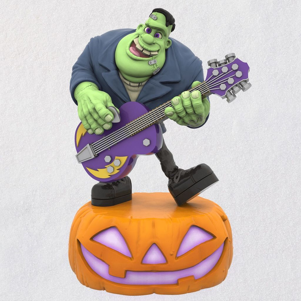 Monster Mash Collection Frank on Guitar Musical Halloween