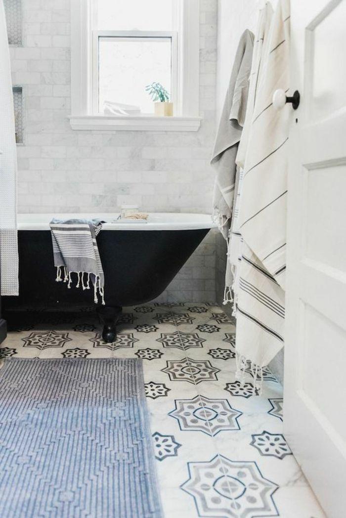 Idées Pour Une Salle De Bain M Comment Réaliser Une - Carrelage salle de bain et tapi deco