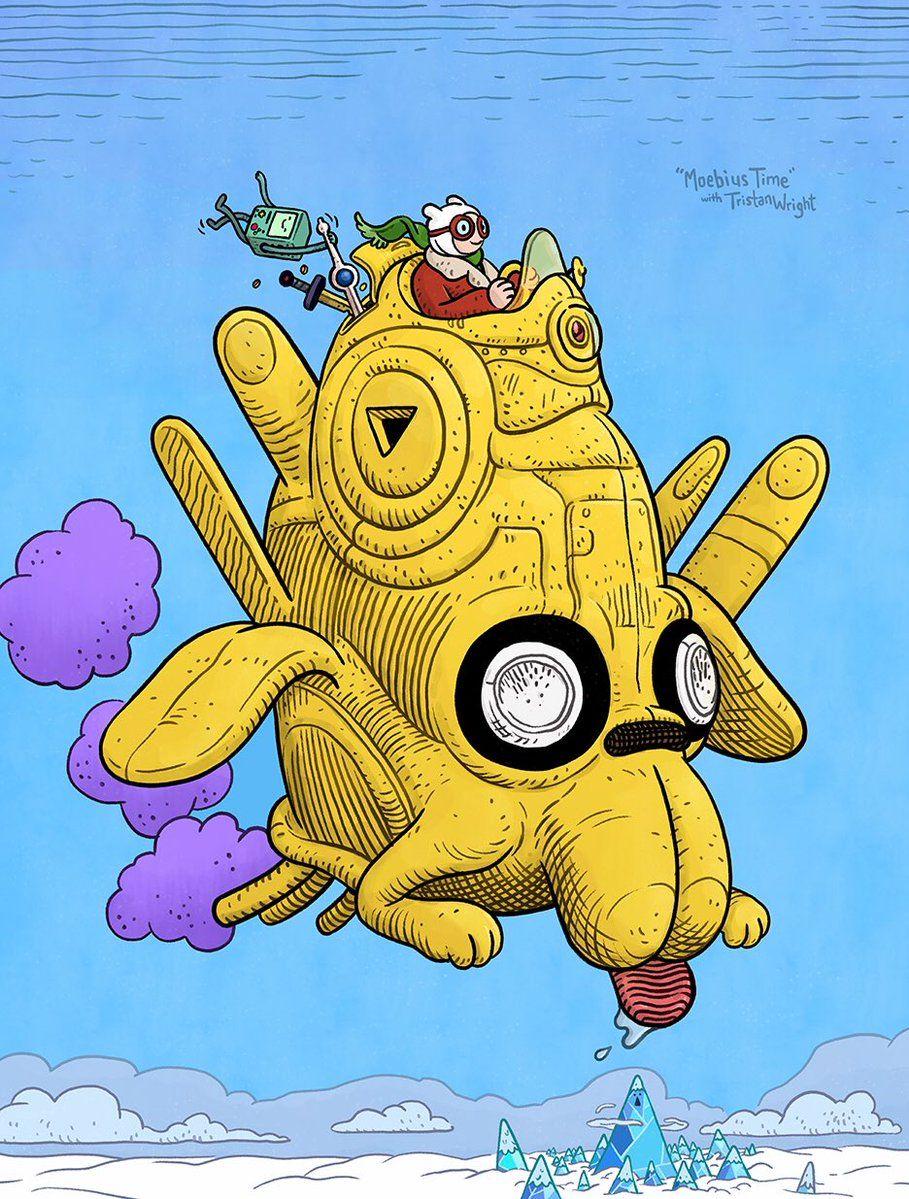 Adventure Time meets Moebius | Pinterest | Comic artist, Art styles ...