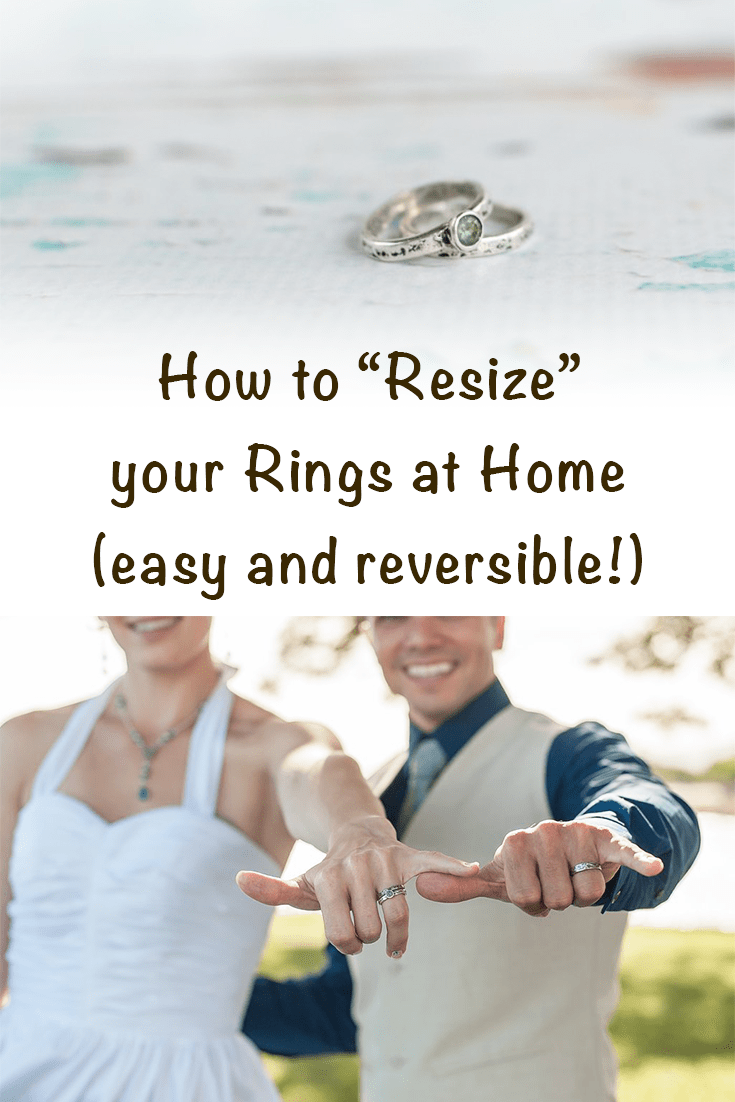 How To Resize Your Ring At Home Comfortable Pretty Way To Make Your Loose Ring Fit The Artisan Life Make A Ring Smaller How To Make Rings Big Rings