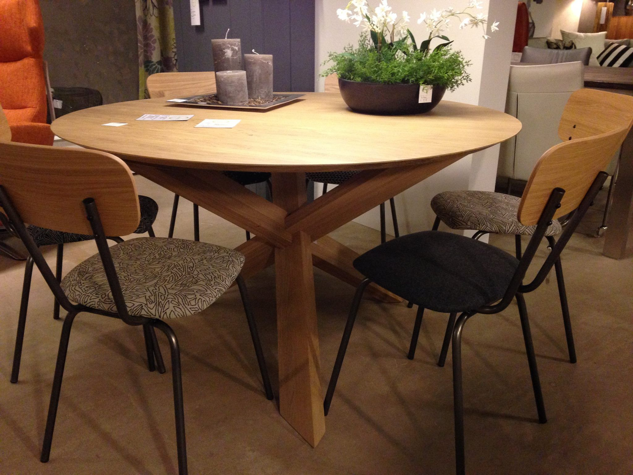 table salle a manger ethnicraft
