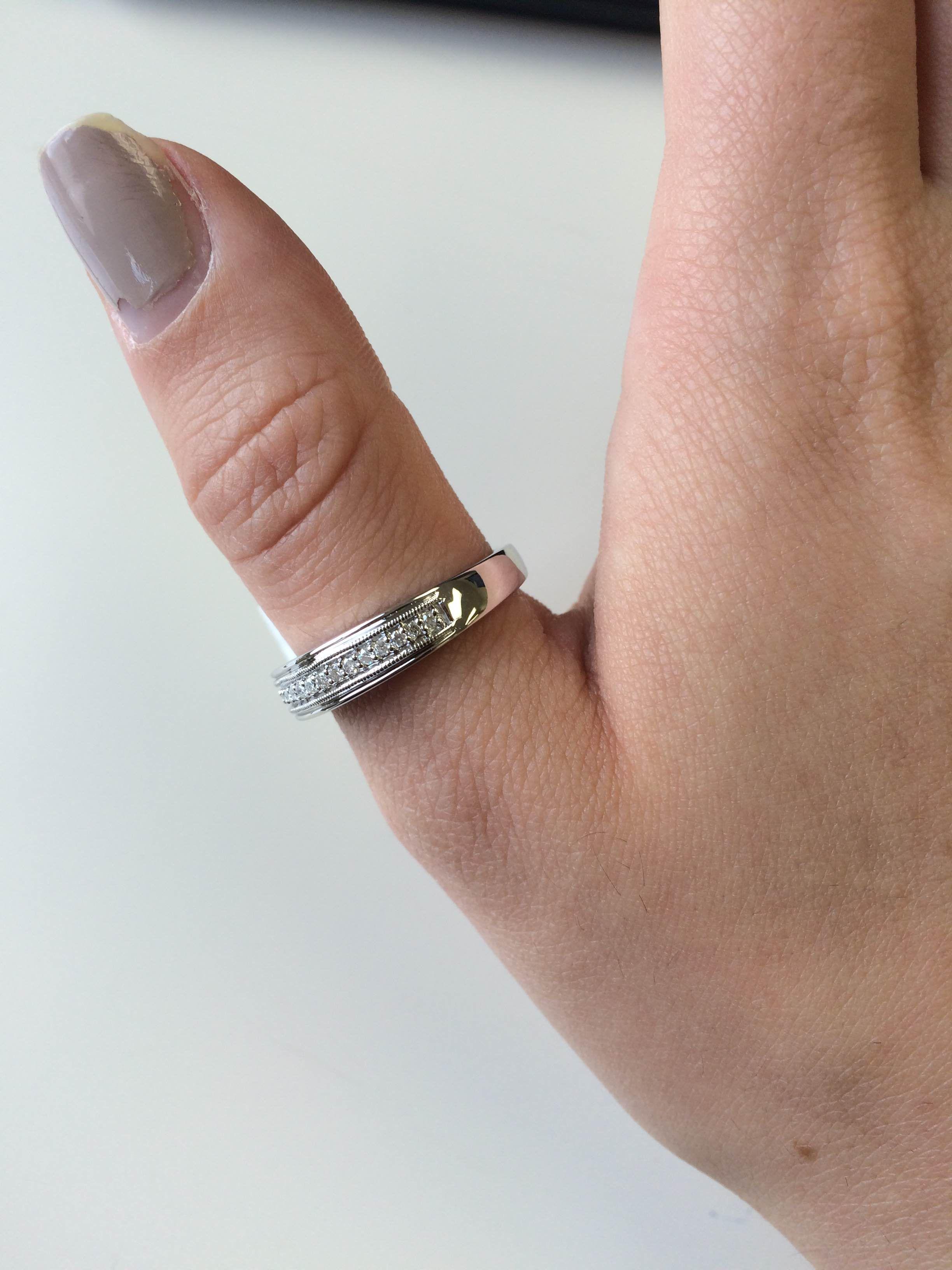 1 2 Carat T W Diamond Trio Matching Wedding Ring Set 10k Yellow Gold Mens Wedding Rings Gold Matching Wedding Rings Mens Wedding Rings