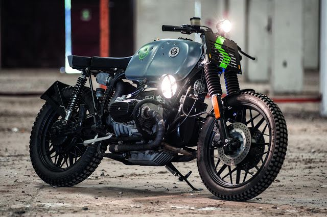 BMW Street Tracker by Svako Motorcycles #motorcycles #streettracker #motos | caferacerpasion.com