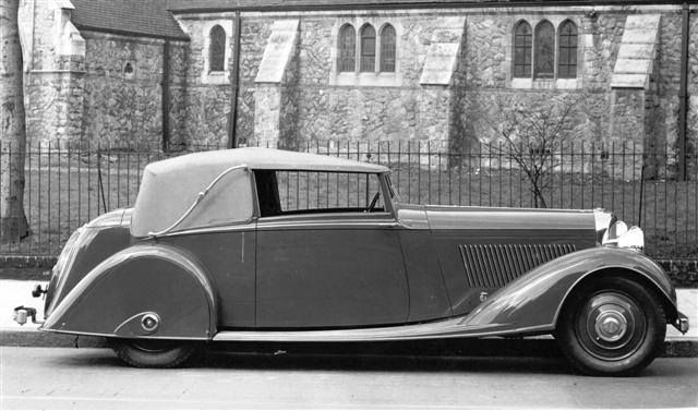 Drophead Coupé by Thrupp & Maberly (chassis B8DG)