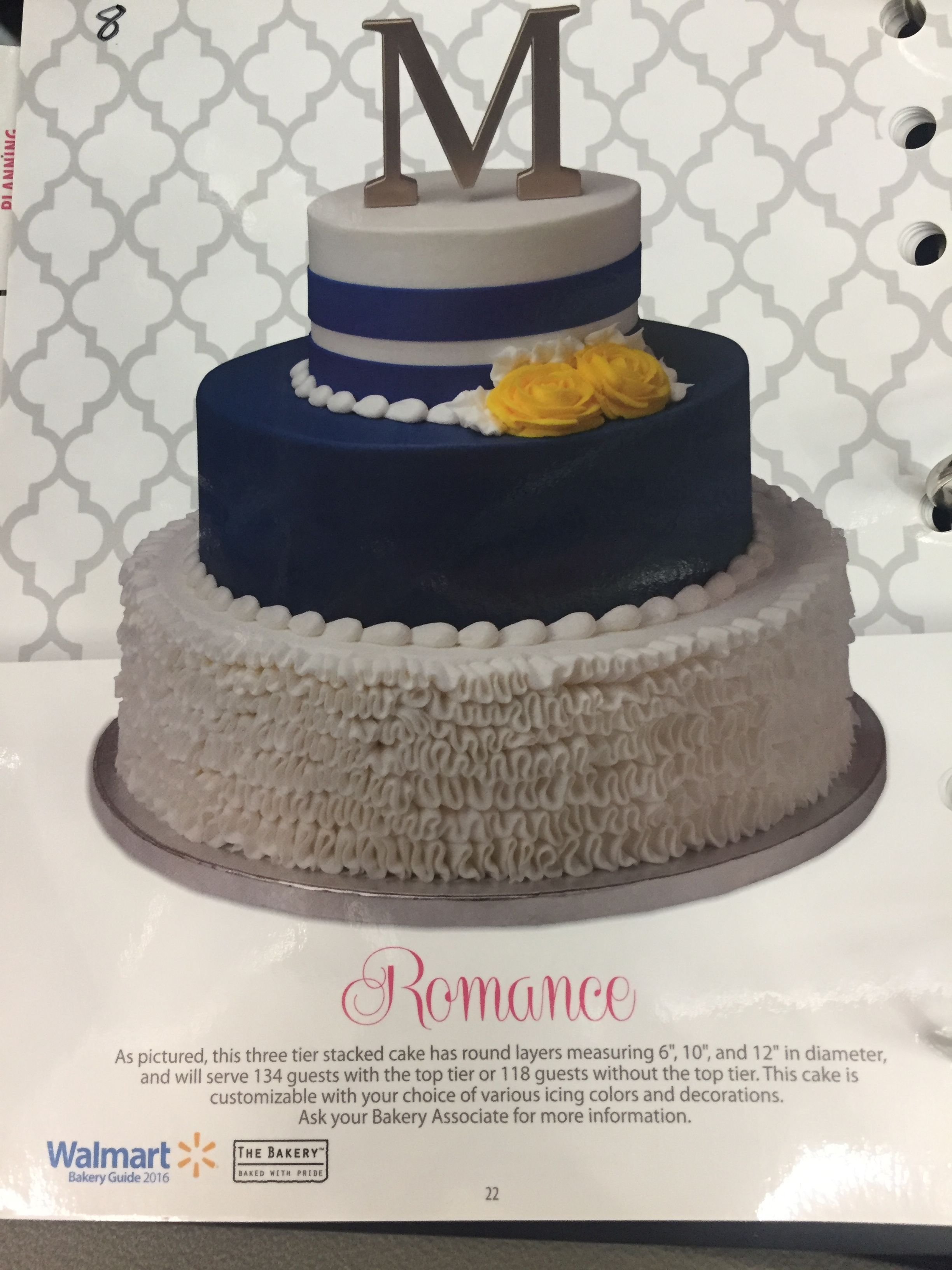 Walmart Cake From Their Book Cakes 80th Birthday Decorating 80