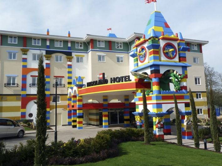 Alsecco S Creative Colour Facades Used At New Legoland Windsor Resort Hotel