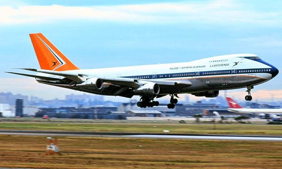 Pin by Rob VR on South African Airways Boeing aircraft
