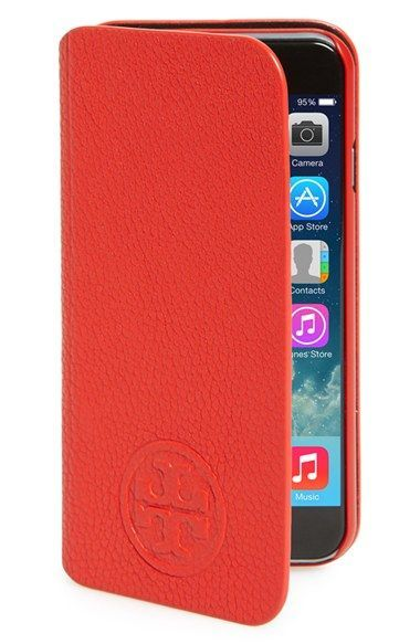 Free shipping and returns on Tory Burch Leather iPhone 6 Case at  Nordstrom.com.