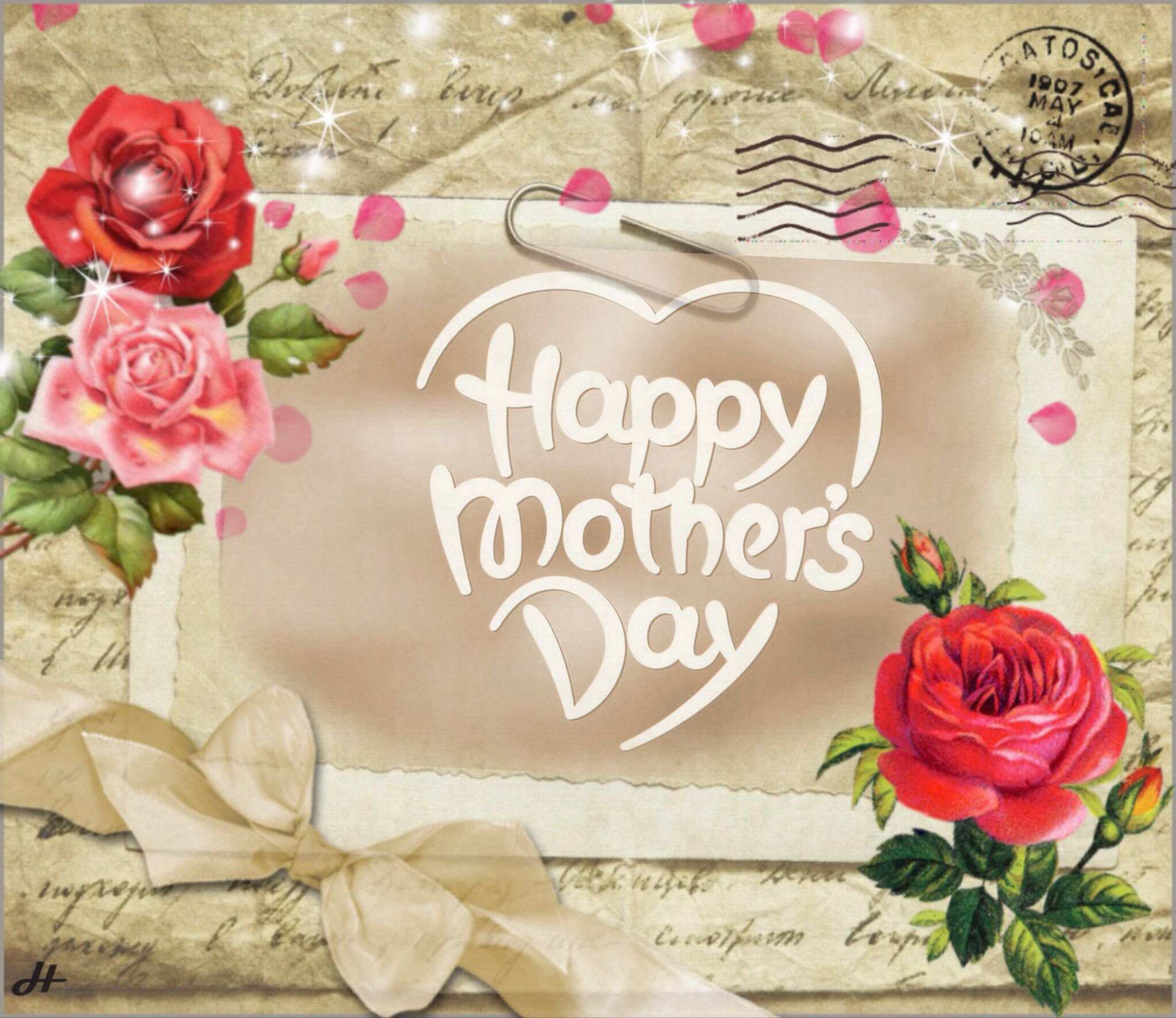 Happy mothers dayMade by Anita and imikimi   Selfmade picture,s with ...