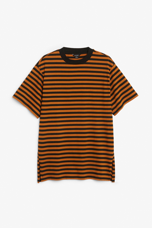 c62fa63a08d Oversized cotton tee - Hello pumpkin! - Tops - Monki GB