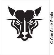 Wild Cat Head, suitable for team identity, sport club logo...