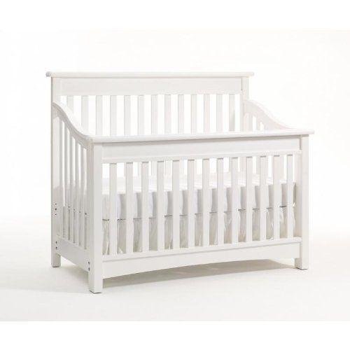 Bonavita Peyton Lifestyle Crib Classic White Convertible Crib