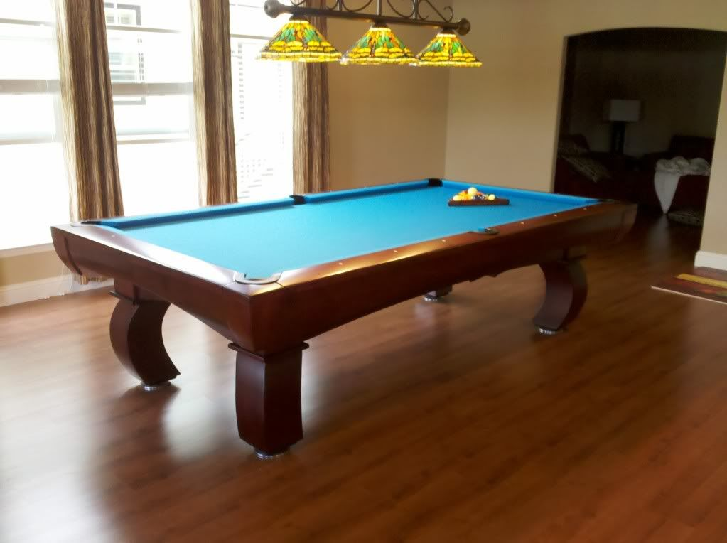 Diamond Cherry Wood Paragon Pool Table