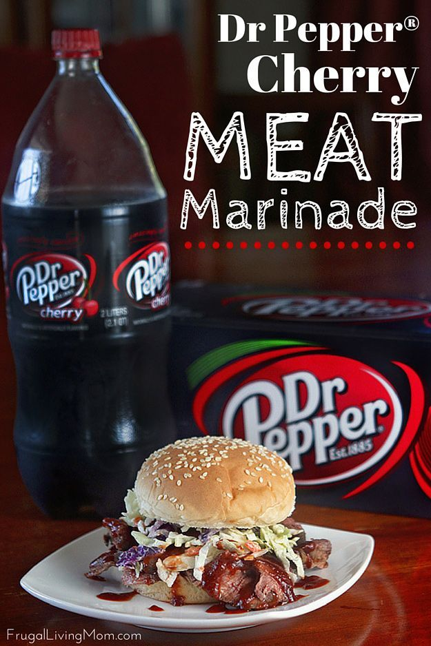 Dr Pepper® Cherry Meat Marinade (AD) #meatmarinade