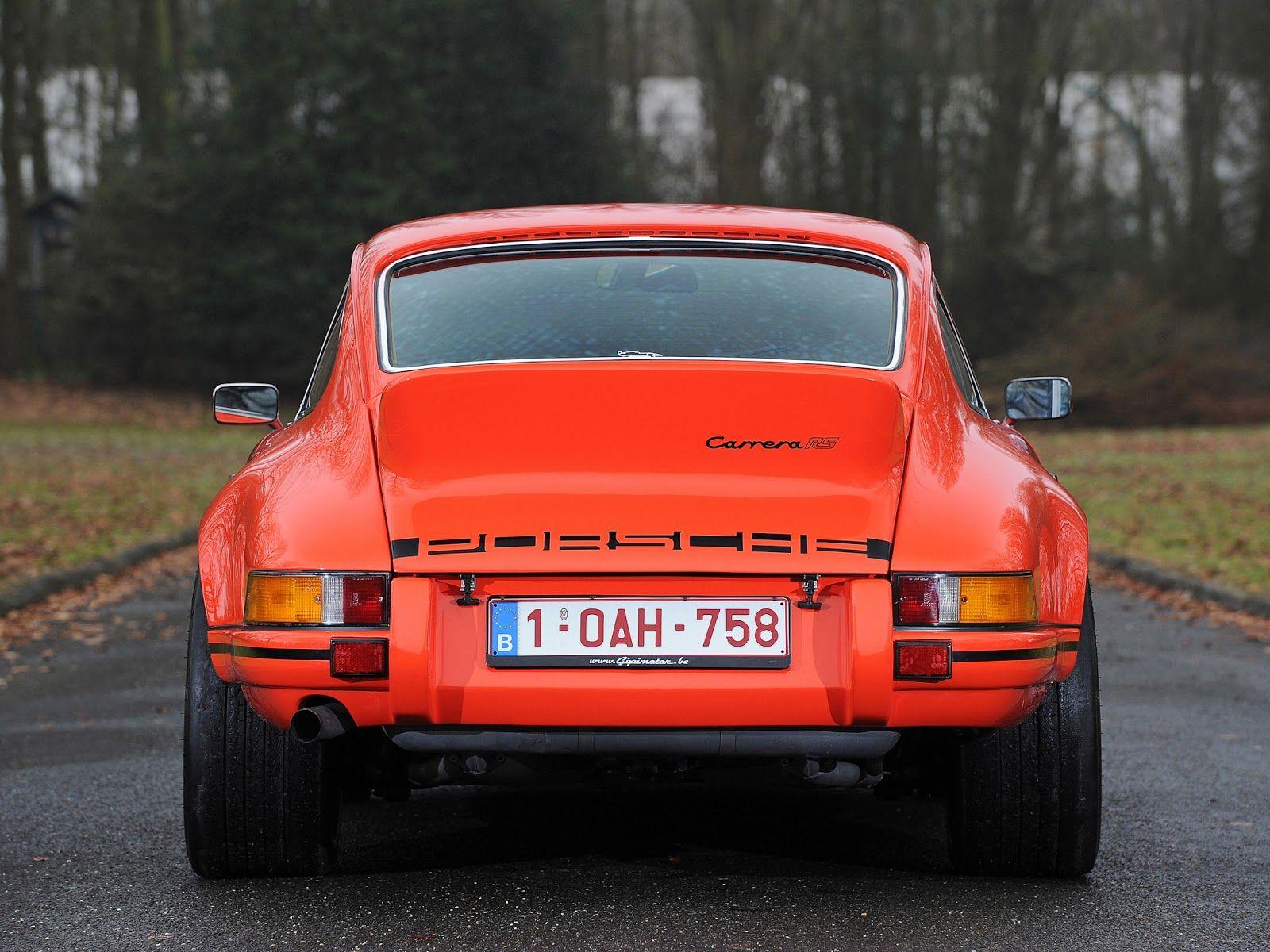 Straightspeed 1973 porsche 911 2 7 carrera rs