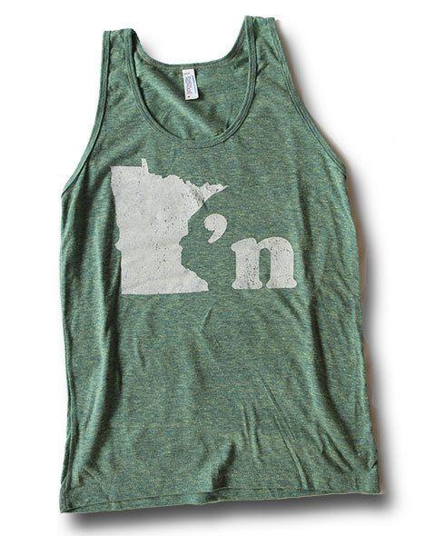 Minnesotan Unisex Tank - MPLS / STP Clothing Co.