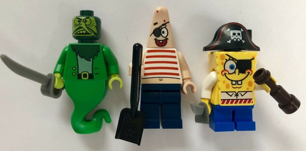 LEGO 3817 Mini Figure // Mini Fig SpongeBob SquarePants Flying Dutchman