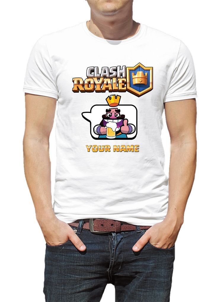 36ded05f44 Custom Clash Royale T-shirt Beer Model