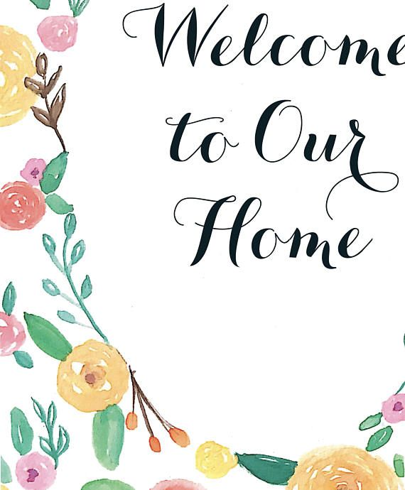 graphic regarding Welcome Home Sign Printable named welcome residence indication printable -
