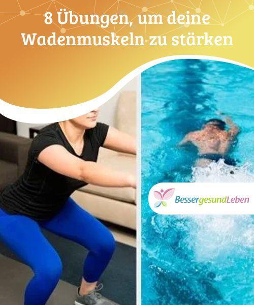 8 Übungen, um deine Wadenmuskeln zu stärken  Unabhängig von den Übungen, mit denen du deine Wadenmuskeln aufbaust, ist es wichtig, dass du viel dehnst, um Krämpfe und Verletzungen zu vermeiden.