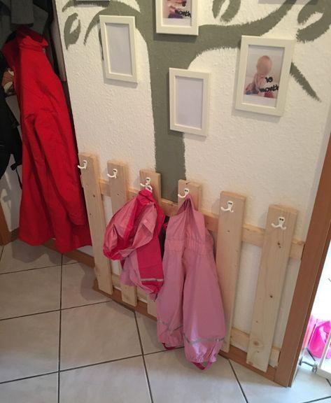 Garderobe Fur Kinder Selber Bauen Mit Bildern Garderobe Kinder