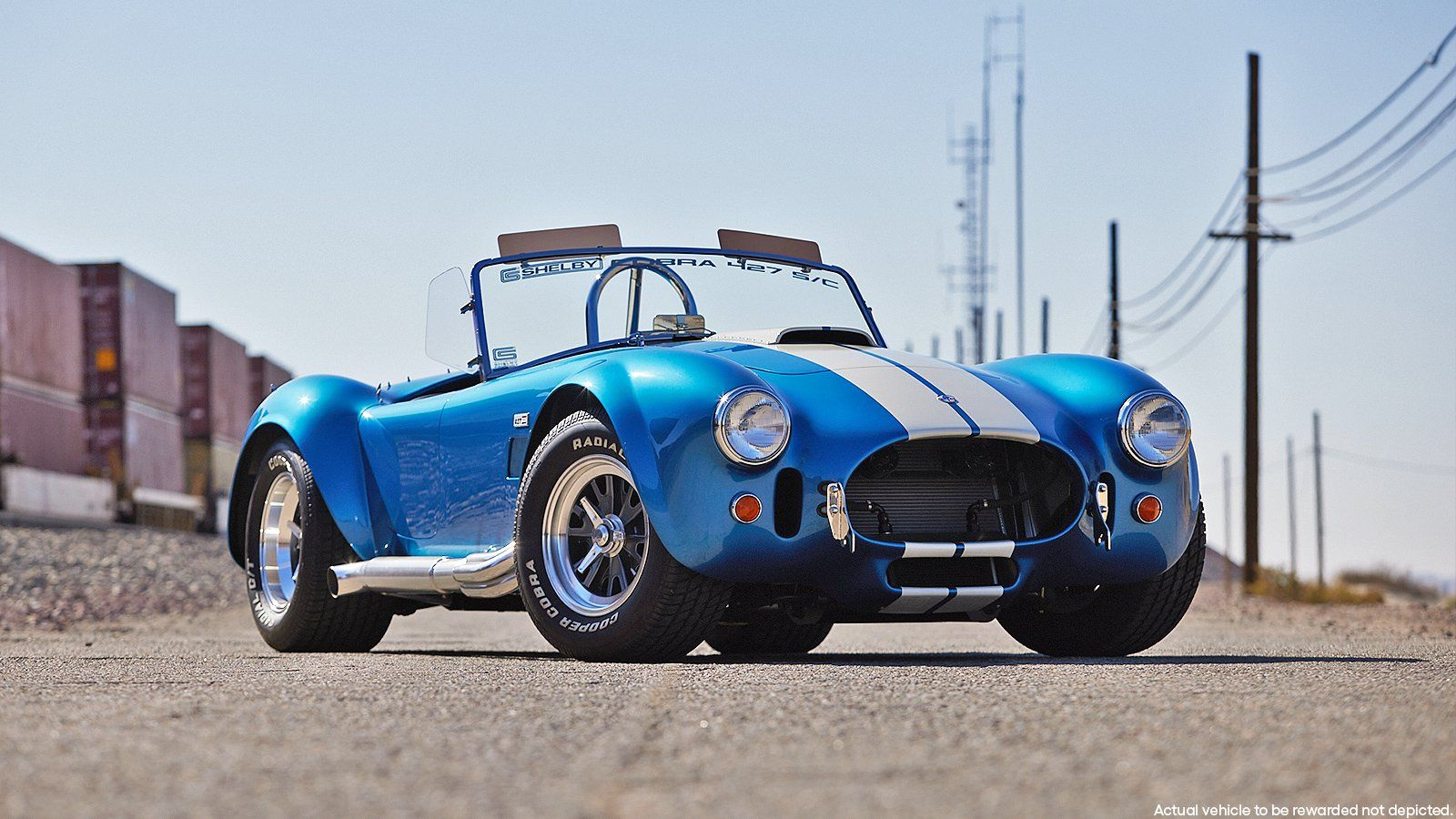 Win A Rare 2005 Ford Gt And 20 000 In 2021 Shelby Cobra 427 Shelby Cobra 427 Cobra
