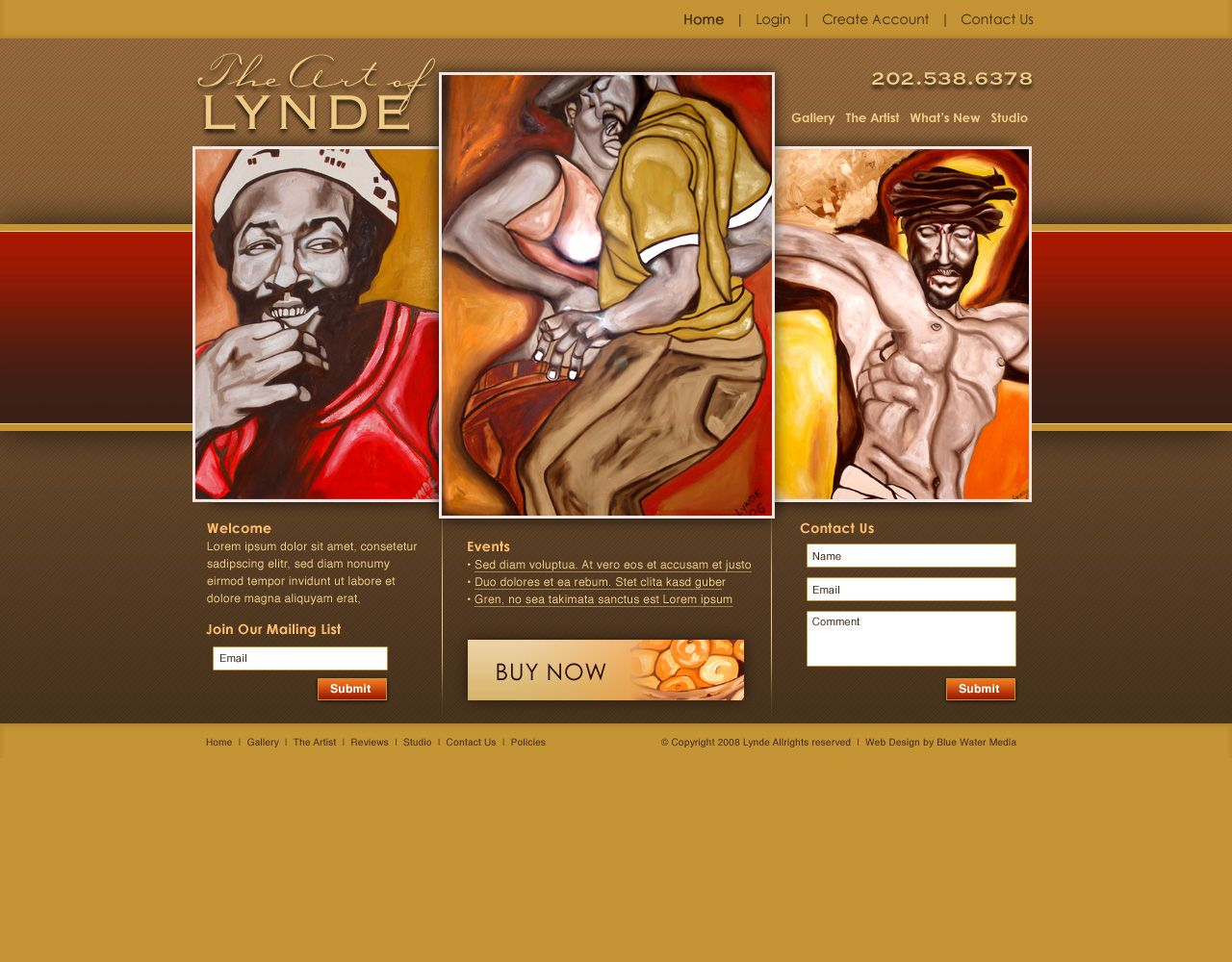The Redesigned Website Created By Blue Water Media S E Commerce Web Design Team Features Original African Ameri African American Art American Painting Artist