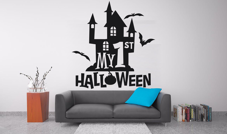 Halloween 2020 Wall Stickers Halloween decor Halloween Decorations Witches Halloween wall