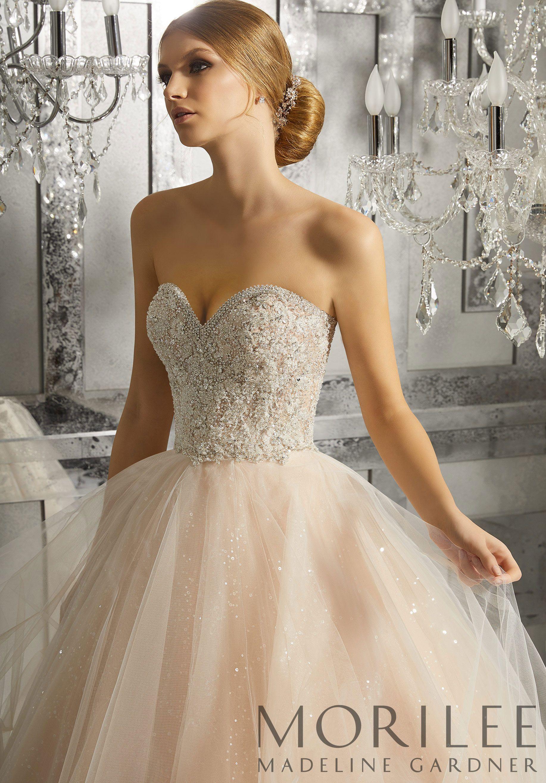 Morilee | Madeline Gardner, Mystique Wedding Dress. Fit for a Fairy ...