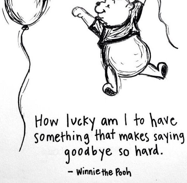 Original Winnie The Pooh How Lucky Am I Quote Soaknowledge