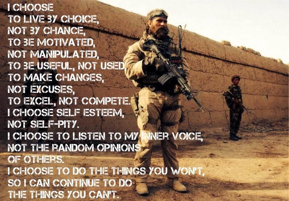 Lead from the front. Set the example for others to follow.