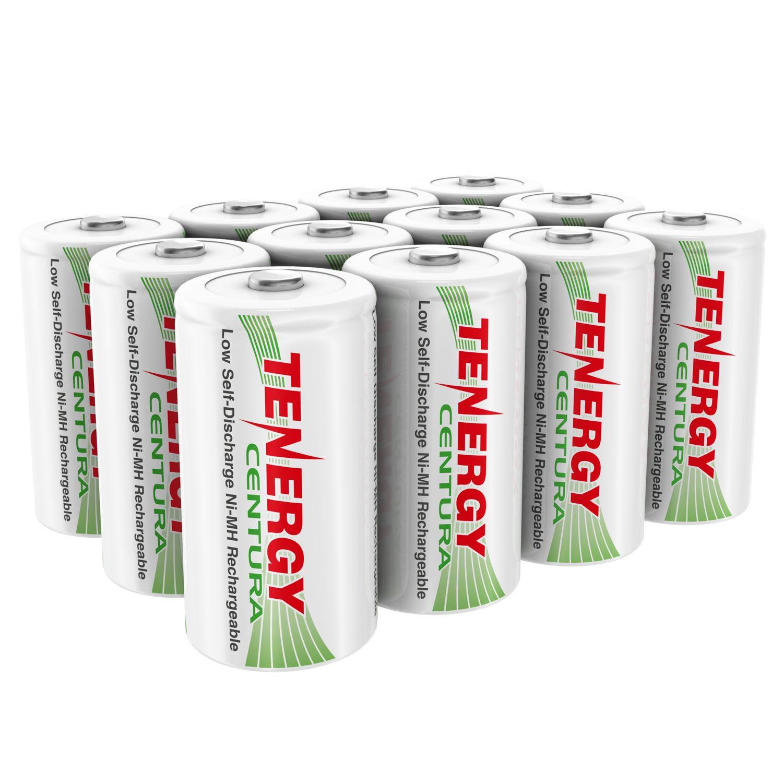16pcs Tenergy Centura Nimh D 1 2v 8000mah Rechargeable Battery Rechargeable Batteries Nimh Recharge