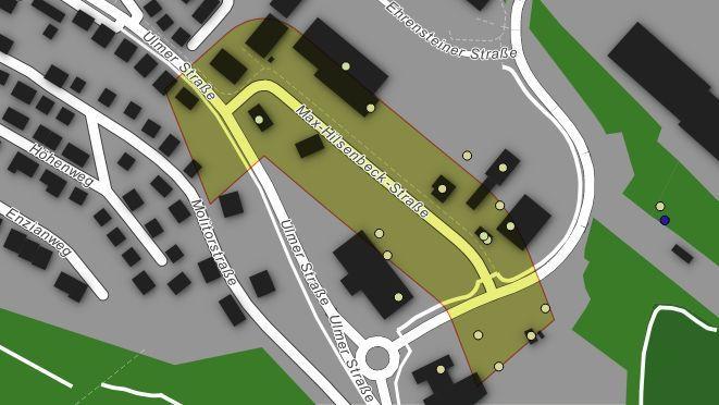 MaxHilsenbeckStraße Blaustein ArivaIO Maps ArivaIO