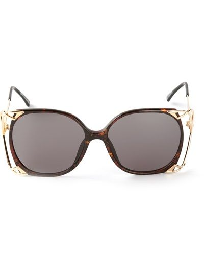 288dc9b307 CHRISTIAN DIOR VINTAGE Butterfly Frame Sunglasses | Sunglasses ...
