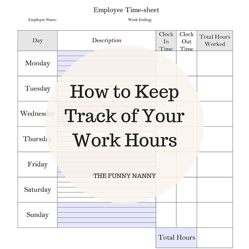 How To Keep Track Of Your Work Hours