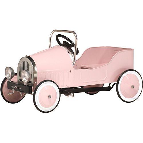 Morgan Cycle Classic Pink Pedal Car