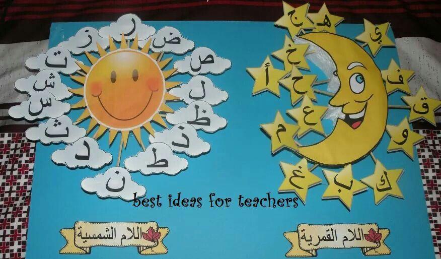 Shamsiyah Letters And Qamariyah Letters Learning Arabic School Crafts Montessori Activities