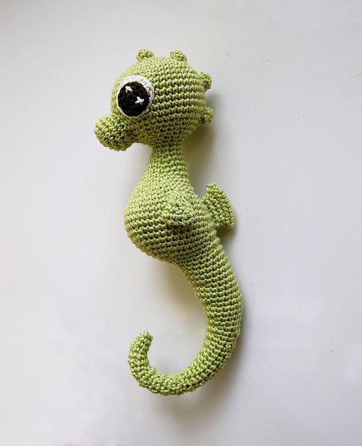 Charly Seahorse pattern by MyGurumi | Caballos de mar, Caballos y ...