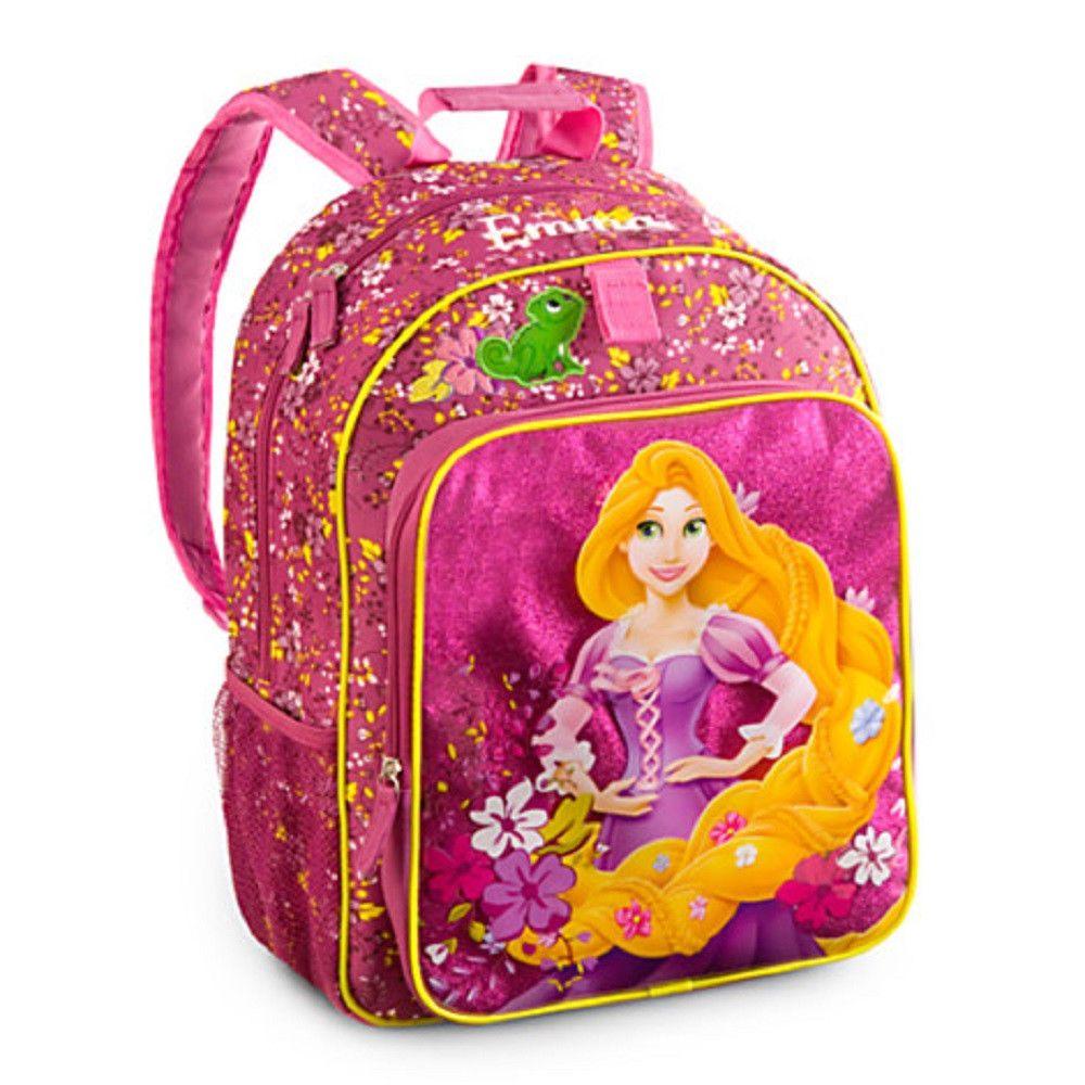 Disney Store Rapunzel Backpack Princess Sleeping Beauty