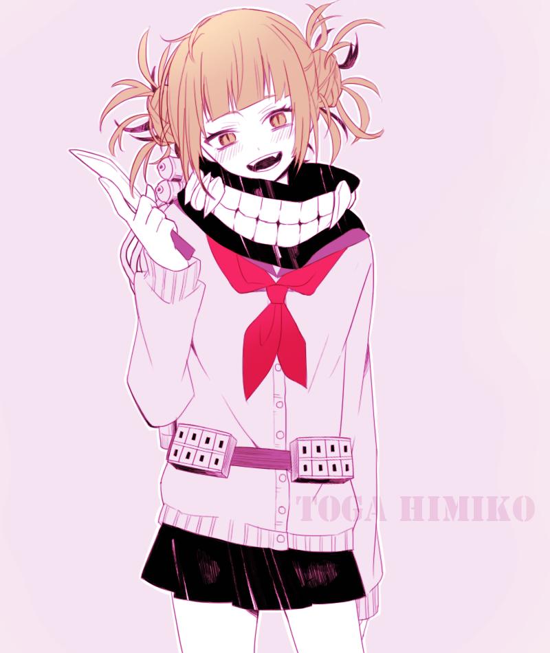 Boku No Hero Academia Himiko Toga Anime Hero Boku No Hero Academia